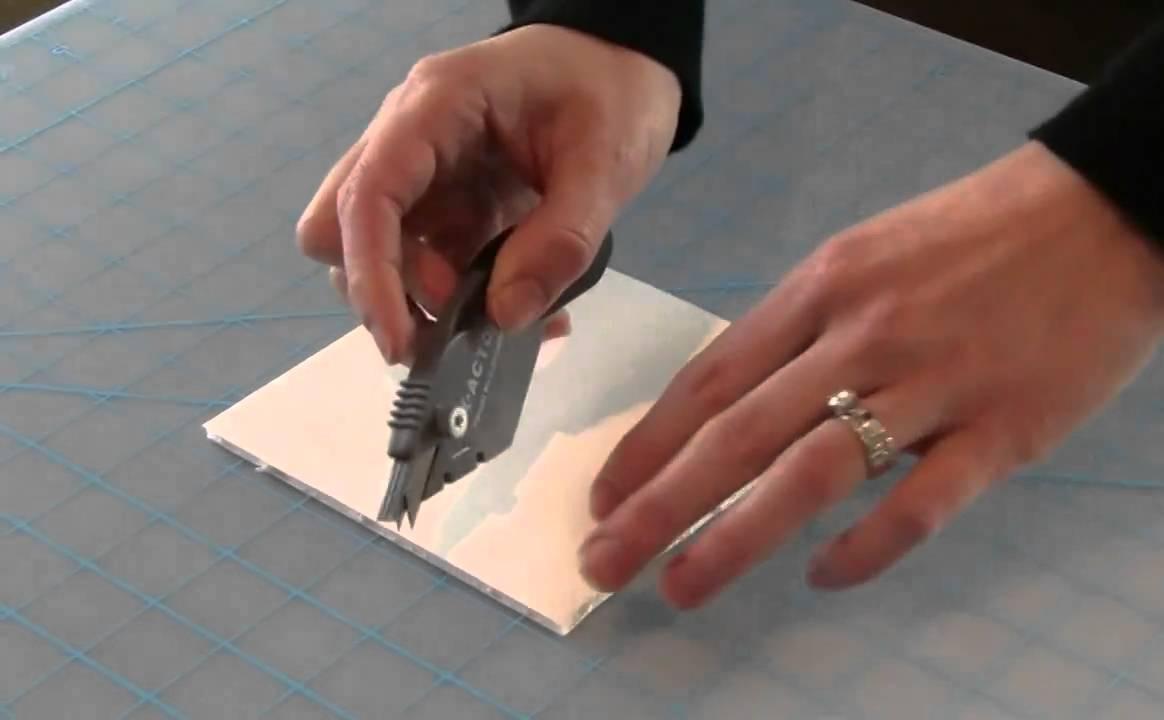 Watch How to Cut Foam Board video