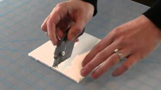 How to Use X-ACTO F๐am Board Cutter