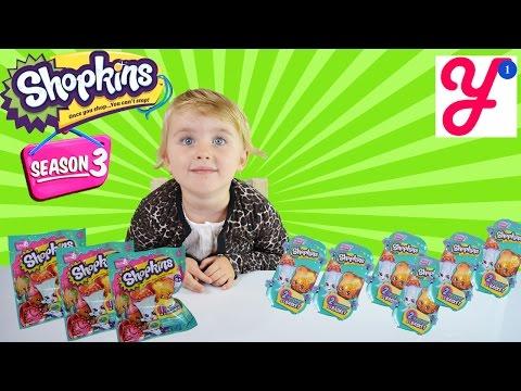 Корзинки и пакетики с сюрпризами Shopkins - Shopkins foil surprises and baskets season 3 from UAE