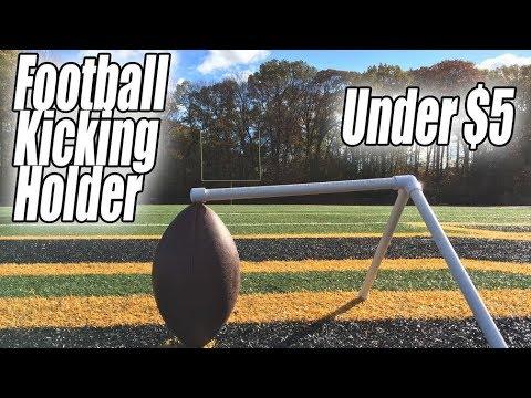 DIY Football Kicking Holder for UNDER $5