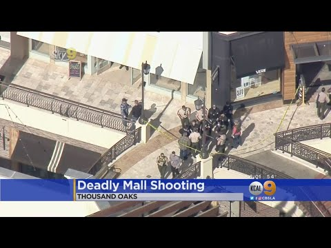 Man Fatally Shoots Ex-Wife At Thousand Oaks Mall In Attempted Murder-Suicide