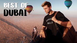 Hot Air Balloon Over DUBAI