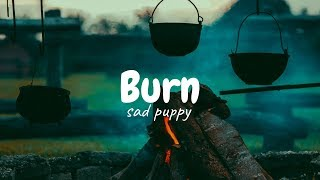 Sad puppy - Burn [ lyrics video ]