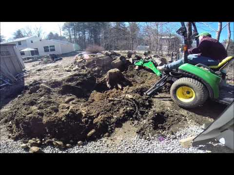 Stump Removal 101 faster