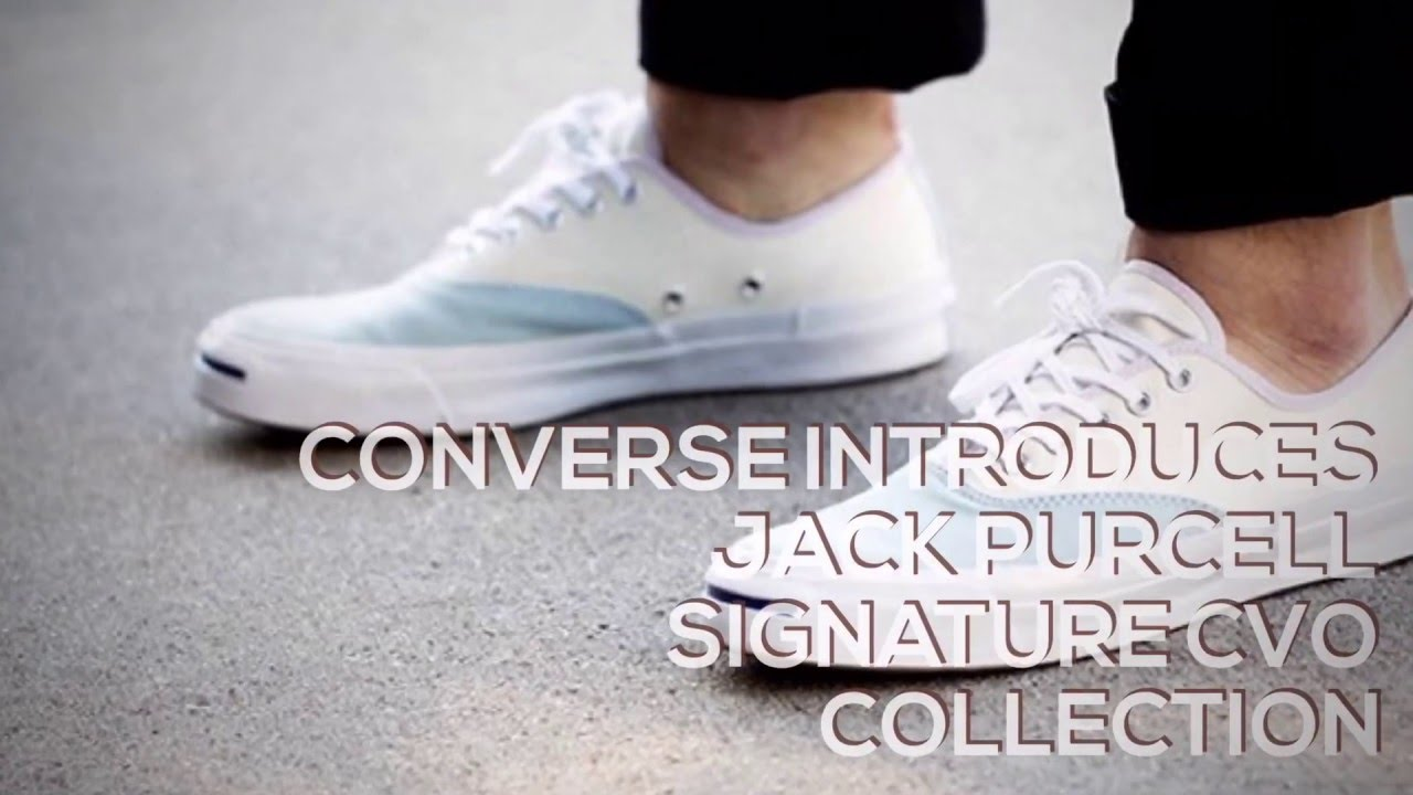 adbbf160670e CONVERSE INTRODUCES JACK PURCELL SIGNATURE CVO COLLECTION  SNEAKERS ...
