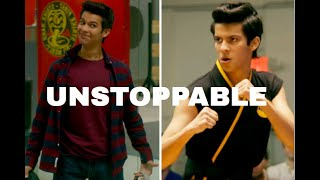 Cobra Kai Miguel Tribute || Unstoppable