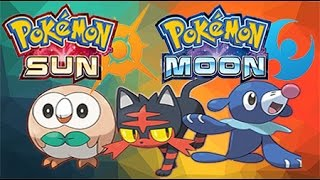 Pokemon Sun and Moon News (Starters, Legendaries, and MORE)