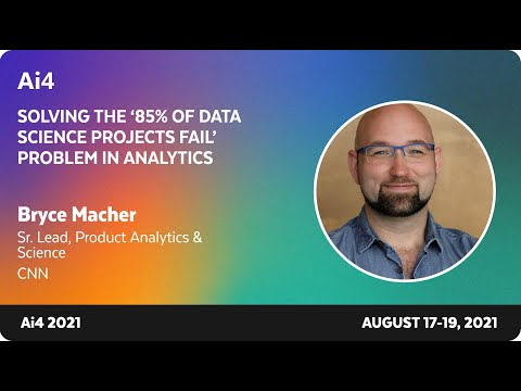 Solving the '85% of Data Science Projects Fail' Problem in Analytics