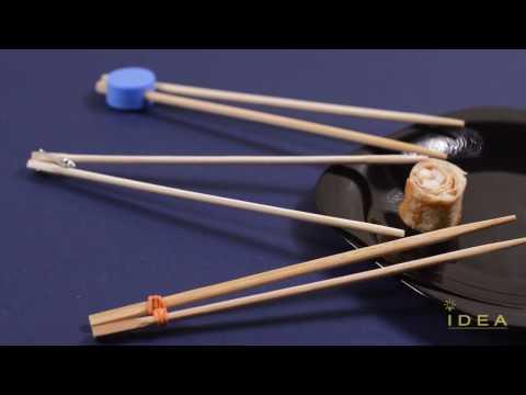 How to Use Chopsticks - 3 Chopsticks Life Hack