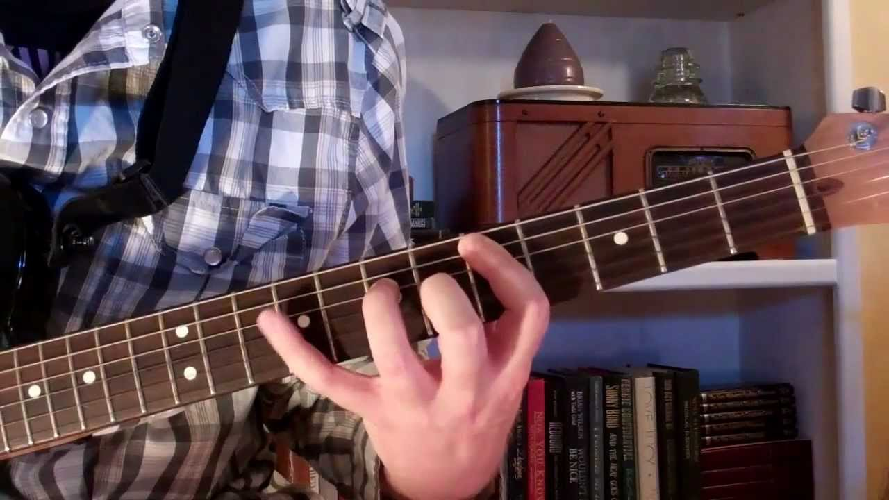 12 bar blues guitar lesson with power chords for beginners youtube. Black Bedroom Furniture Sets. Home Design Ideas