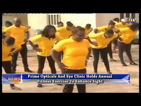 Prime Opticals holds annual fitness exercise to enhance sight