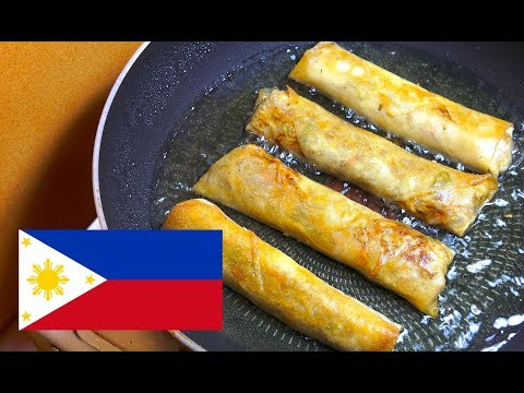 🔵 How to make Spring Rolls - Lumpiang Togue - Pinoy Recipes - Filipino Food - Easy Spring Rolls