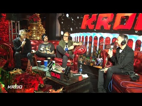 Stryker interviews Blink-182 at KROQ Almost Acoustic Christmas 2016