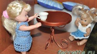 Как сделать столик для кукол