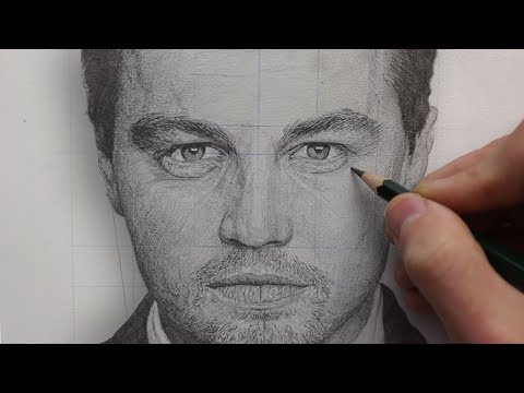 How To REALISTICALLY Render & DRAW a PORTRAIT using PENCIL -