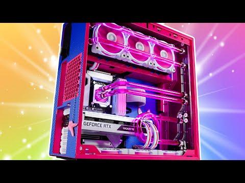 INSANE Custom Water Cooled D.VA Gaming PC Build - RTX 3070