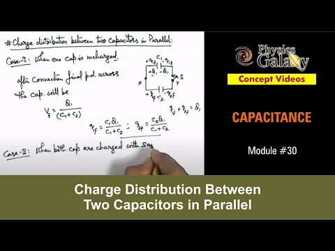 30 physics capacitance charge distribution between two physics capacitance charge distribution between two capacitors in parallel ashish arora