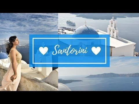 Santorini Greece Things to do -Day 1 | Vlog