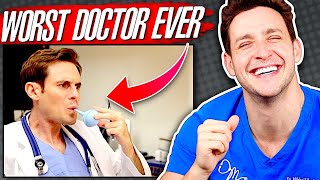 Doctor Reacts To VIRAL Medical Sketches