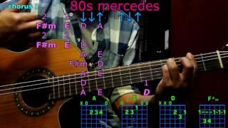 80s mercedes maren morris guitar chords
