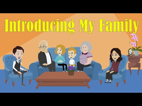 Introducing about your family  in English - Basic English Speaking Lesson