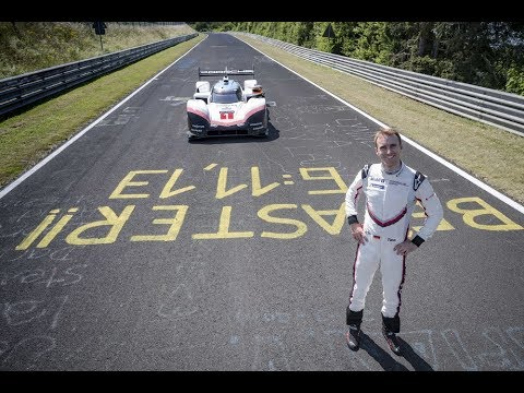 """5:19.55 minutes. Porsche 919 Hybrid Evo takes record in the """"Green Hell"""""""
