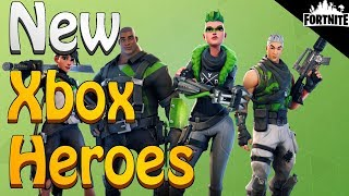 FORTNITE - New MedBot And Xbox Exclusive Heroes (Patch Notes)