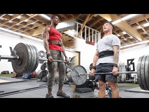 MAX THE BODY TRIES POWERLIFTING