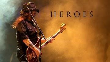 "Motörhead  ""Heroes""  (David Bowie Cover)"
