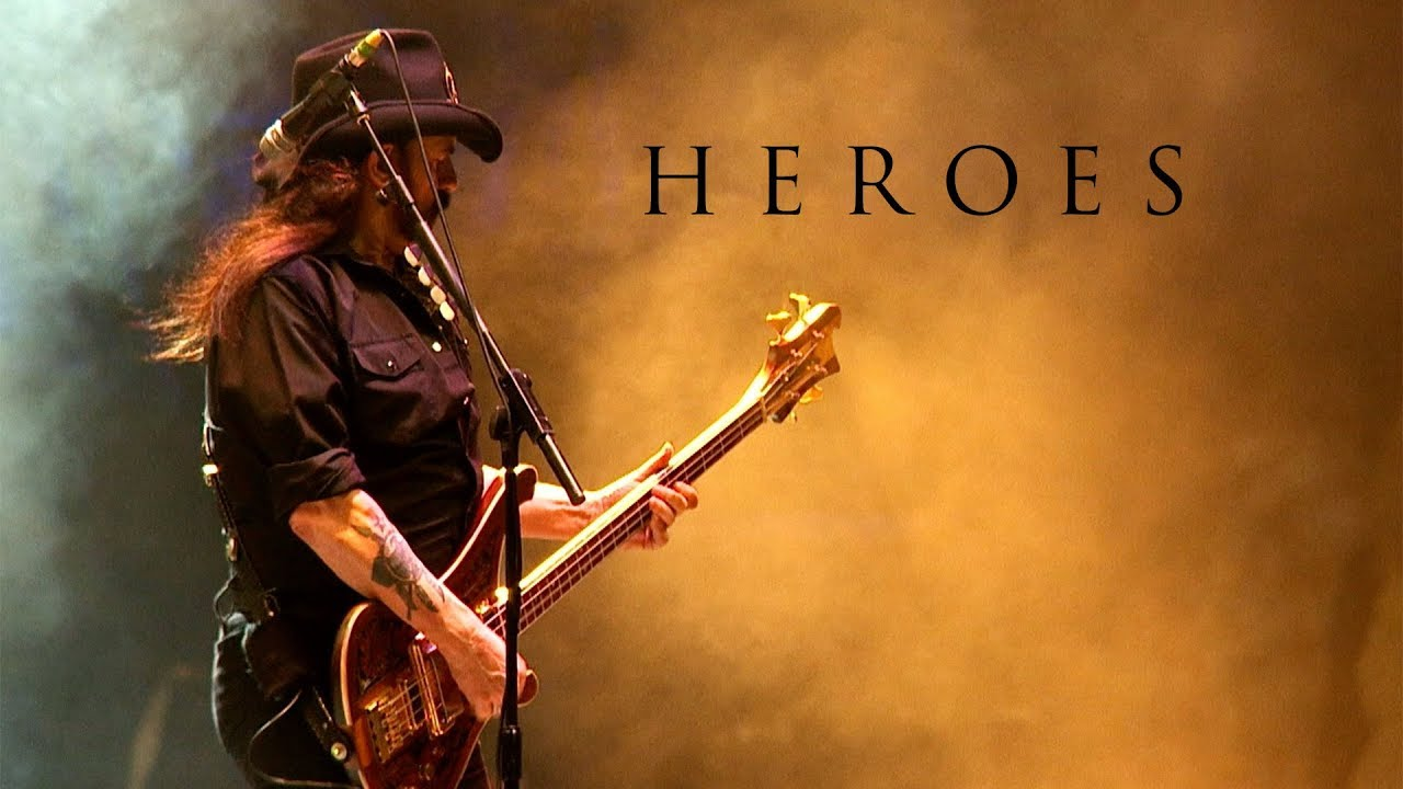 Motörhead Heroes David Bowie Cover Youtube