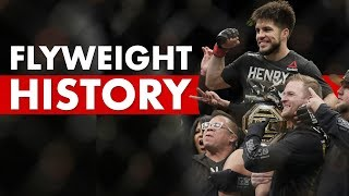 The History Of The UFC's Flyweight Division