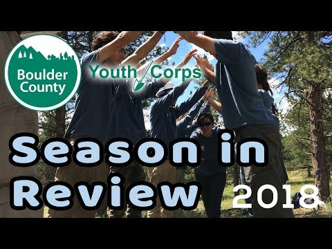 Youth Corps Season in Review 2018