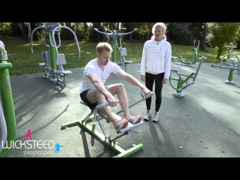 Rower - Outdoor Gym Equipment