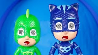 PJ Masks Toys ⚡ Funny moments with the Pj Masks ⚡😀⚡