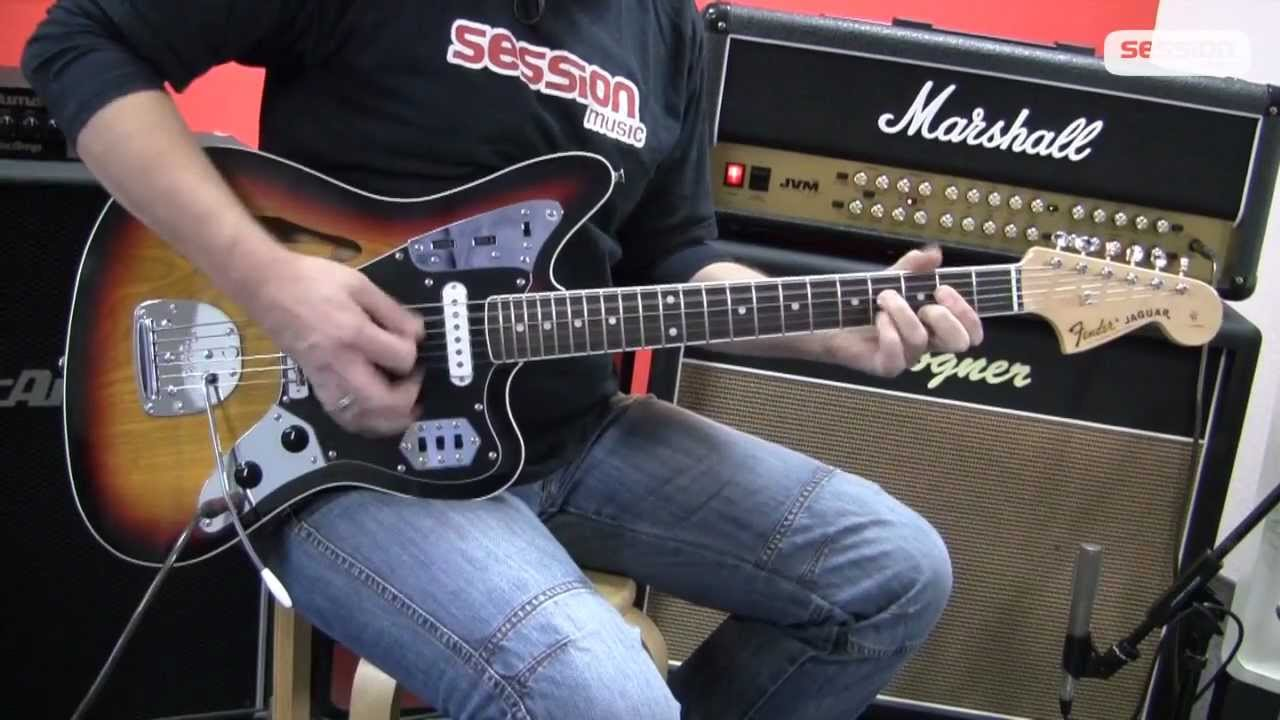 fender jaguar special edition thinline rw 3ts - youtube