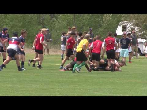 Missouri HS All Stars Rugby vs Heart of America in Denver 2017