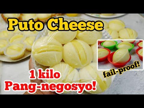 Puto Cheese Pang-Negosyo (1 kilo) and Tips para IWAS-PALPAK (Tagalog) Madali at Pwede Pagkakitaan!