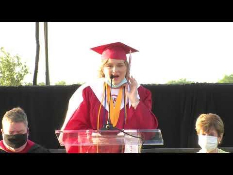 "5.20.2021 ""2021 Graduation"" St Michael Catholic High School. Fairhope, Alabama"