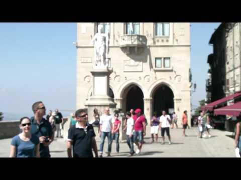 Repubblica di San Marino - Palazzo Pubblico e piazza