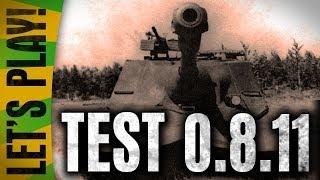 Тест 0.8.11 ~ Sasha_BANG и GladGrobovshik ~ Нерф ПТ, заговоры ВГ и ностальгия по танкам 2010 года