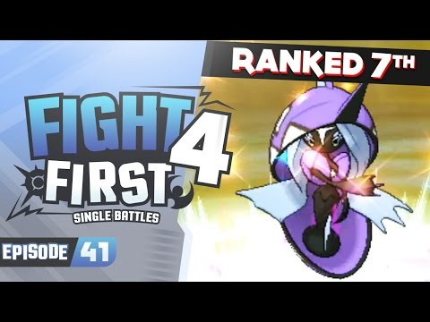 Oh Sh*t! The HIGHEST RATED BATTLE!! | Pokemon Sun and Moon LIVE Wifi Battles | F4F #41