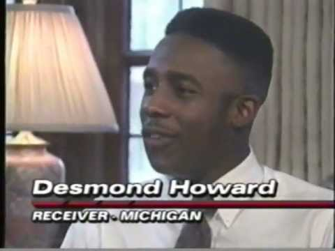 Desmond Howard interview (1991)