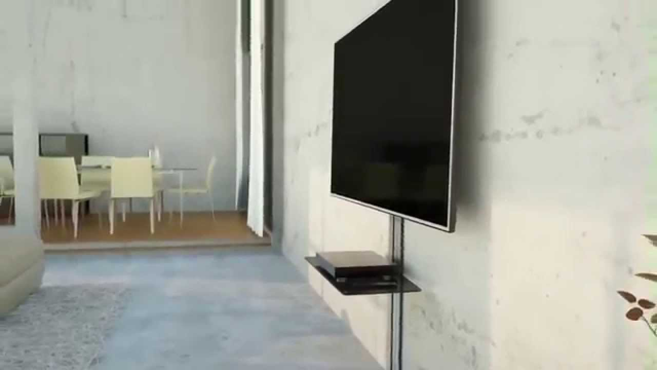 Vogel 39 s next 7345 40 65 muurbeugel tv support mural tv product video youtube - Support mural tv lg ...
