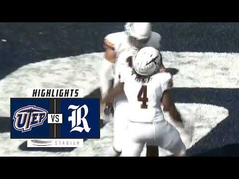 UTEP vs. Rice Football Highlights (2018) | Stadium