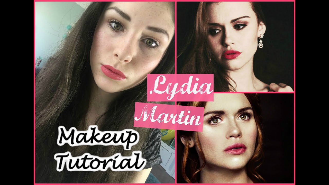 Lydia martin inspired makeup tutorial teen wolf youtube baditri Image collections