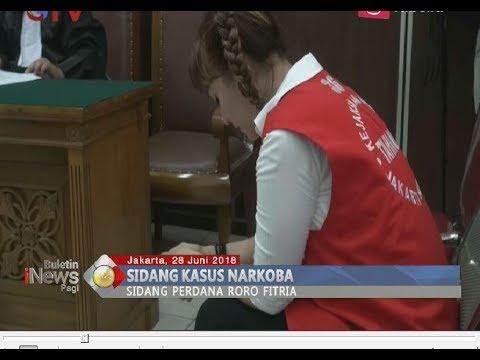 Jalani Sidang Perdana Kasus Narkoba, JPU Jerat Roro Fitria Empat Tahun Penjara - BIP 29/06