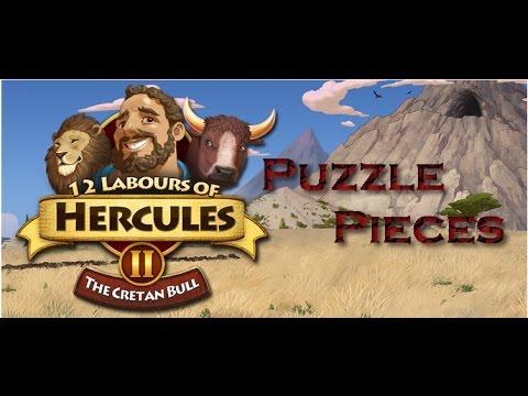 12 Labours of Hercules II The Cretan Bull Puzzle Pieces