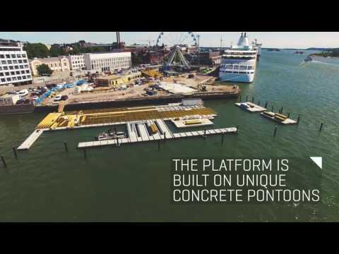 Floating Swimming Arena by Marinetek