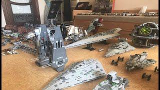 """Моя коллекция """"Лего Звездные Войны"""" за 2018 год.  Не густо, но вкусно! My LEGO Star Wars collection"""