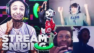 I Spent A Day STREAM SNIPING NBA2K19 Streamers